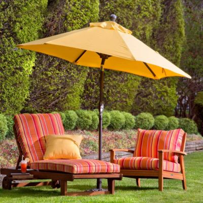 7-1/2' Outdoor Sunbrella Umbrella & Replacement Canopy