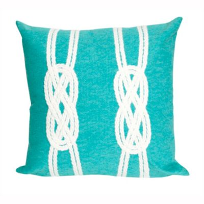 Double Knot Outdoor Pillow
