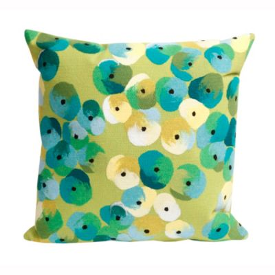 Pansy Flowers Outdoor Pillow