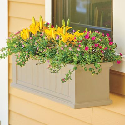 Cape Cod Self-Watering Window Box Planters