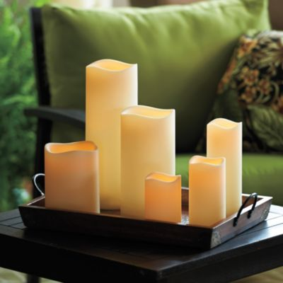 Battery Operated LED Indoor/Outdoor Flameless Candles