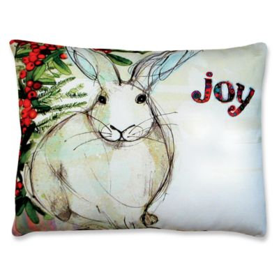 Bunny Indoor/Outdoor Decorative Throw Pillows