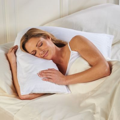 The Side Sleeping Solution L-Pillow & Pillowcase