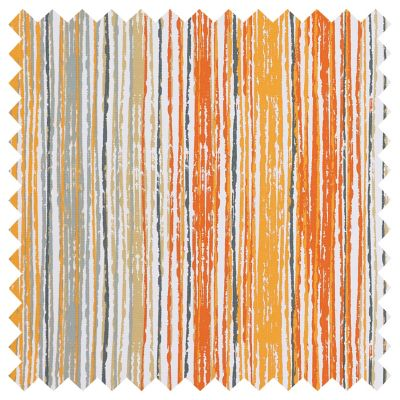 Outdoor Cushions-Kamala Orange Stripe