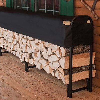 Heavy Duty Firewood Rack with Cover