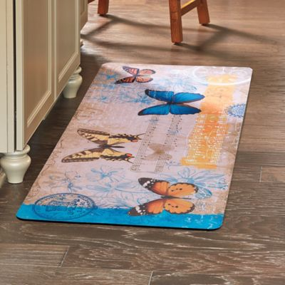 Airmail Butterfly Anti-Fatigue Mat