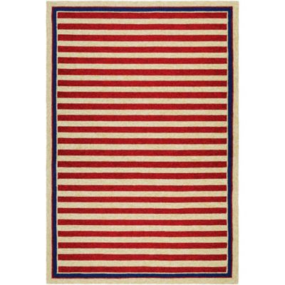 Nautical Stripes Outdoor Rugs