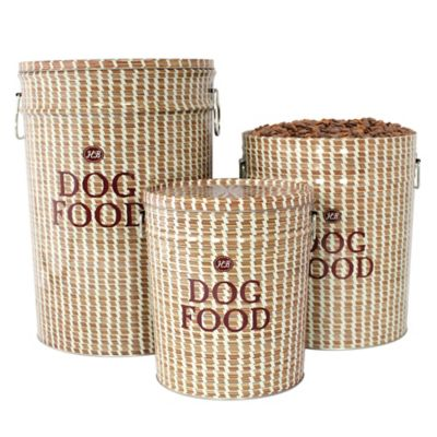 Sweetgrass Dog Food Storage Canister