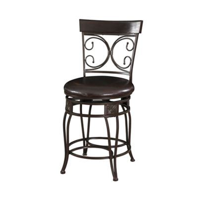 Back to Back Scroll Bar Stools
