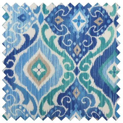Outdoor Cushions - Sea Mist Medallion Print