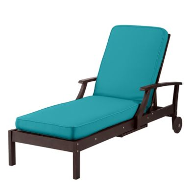 "Chaise Cushion-Box Edge 72""x21""x3-1/2"""