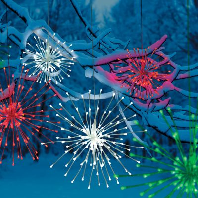LED Starburst Christmas Decorations