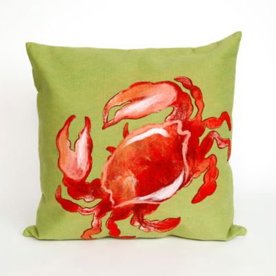 Crab Outdoor Pillow