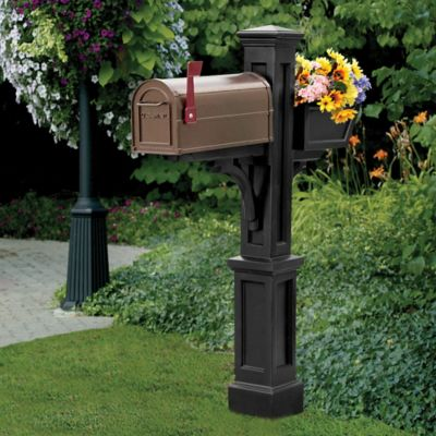 Westbrook Mailbox Post