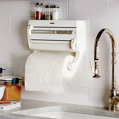 Wrap Dispenser and Paper Towel Holder