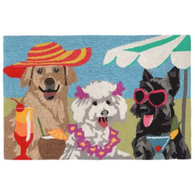 Sassy Lassies Beach Party Outdoor Rugs