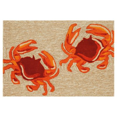 Red Crabs Outdoor Rugs