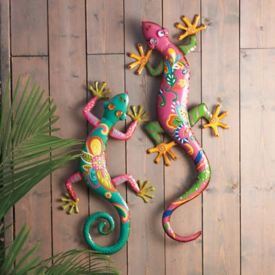 Gecko Metal Wall Decor