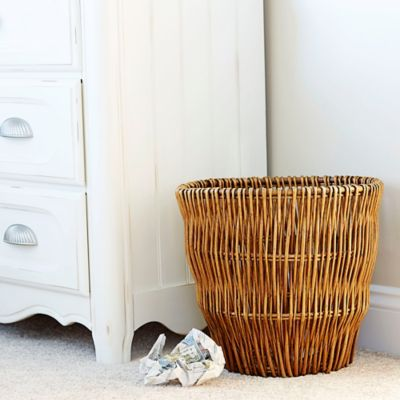 Reed Willow Waste Baskets