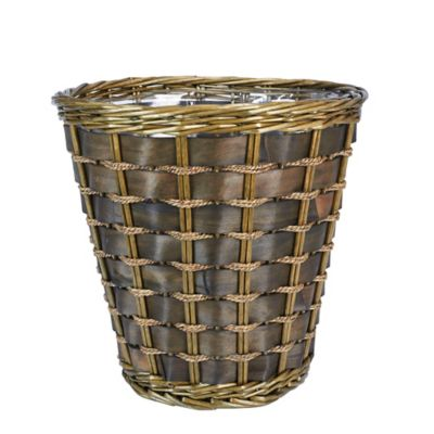 Willow and Poplar Waste Baskets