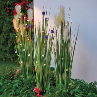 Lighted Decorative Grass