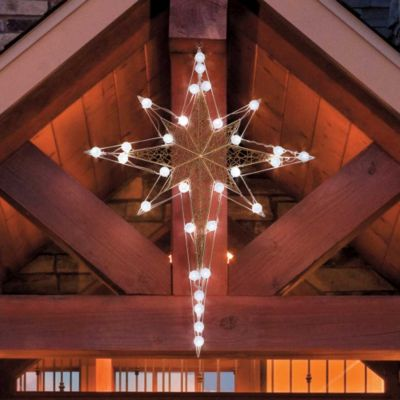 Lighted bethlehem star light show improvements mozeypictures Image collections