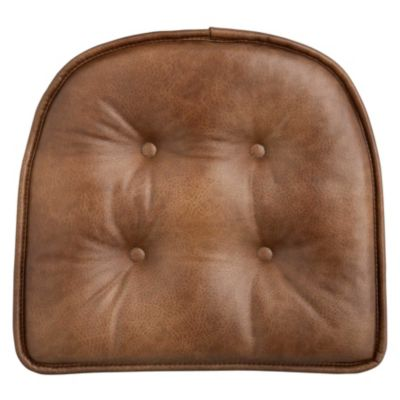 Incroyable Faux Leather Chair Pads/Bar Stool Pads