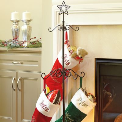 christmas stocking holder stand improvements