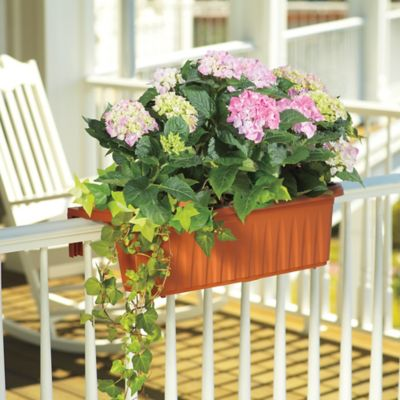 24 Adjustable Railing Planter Box Set Of 2 Improvements