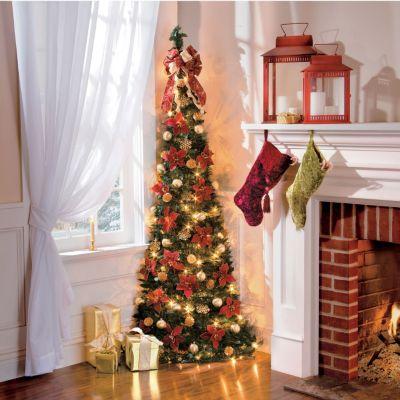 Corner Pull Up Christmas Tree
