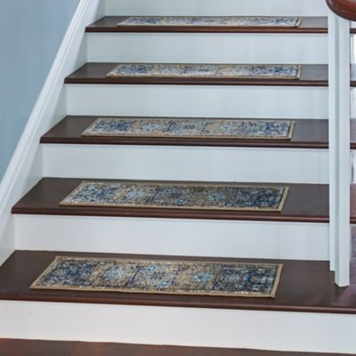 Antique Silk Road Low Profile Stair Treads Set Of