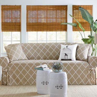 lattice furniture slipcovers