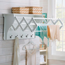 Wall Mounted Clothes Dryer · Accordion Drying Rack