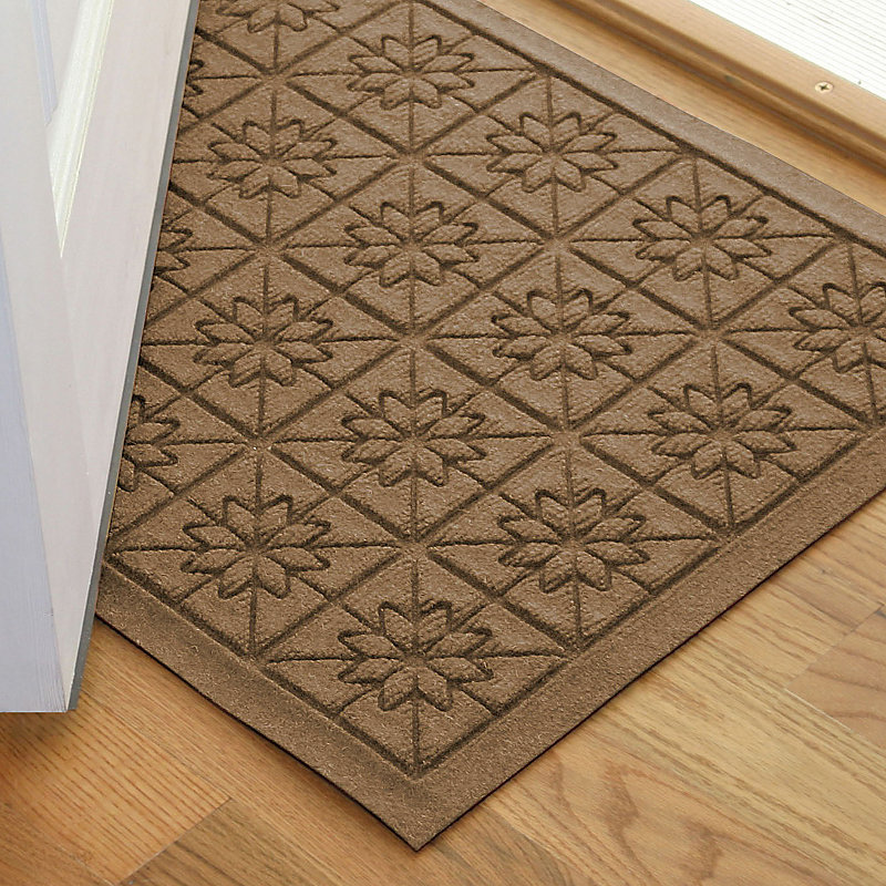 Water Guard Star Grid Door Mat 21 3/4