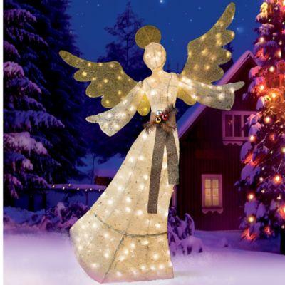 Glittering sisal angel christmas decoration improvements for Sisal decoration