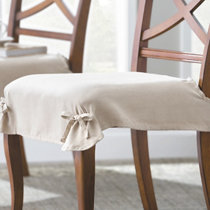 chair seat covers. Faux Suede Dining Chair Seat Covers-Set Of 2 Chair Seat Covers N