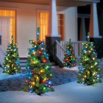 color changing globe light christmas tree - Bubble Lights Christmas Tree