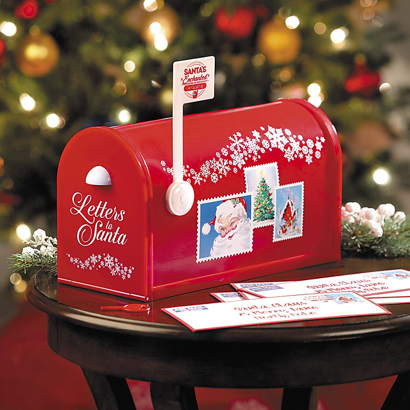 Santa's Magical Mailbox Christmas Decoration