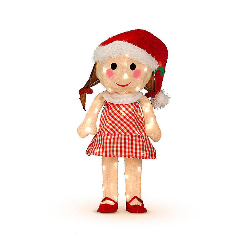 3D Rudolph Misfit Toys Christmas Decorations - Sally