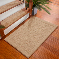 Rowan Embossed Washable Area Rugs