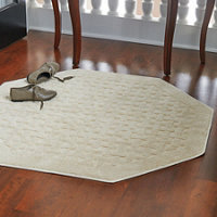 Harrison Weave Washable Area Rug Octagon
