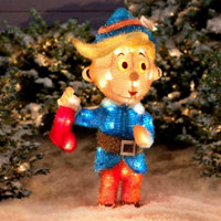 rudolph tinsel hermey the dentist 24 - Rudolph And Friends Christmas Decorations