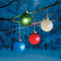 Illuminated outdoor christmas ornaments improvements illuminated round outdoor christmas ornament aloadofball Image collections
