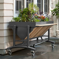 Raised Garden Bed With Wheels