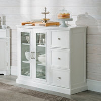 Hampshire Buffet Cabinet With Gl Doors