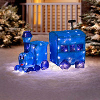 misfit toys train outdoor christmas decoration - Misfit Toys Outdoor Christmas Decorations