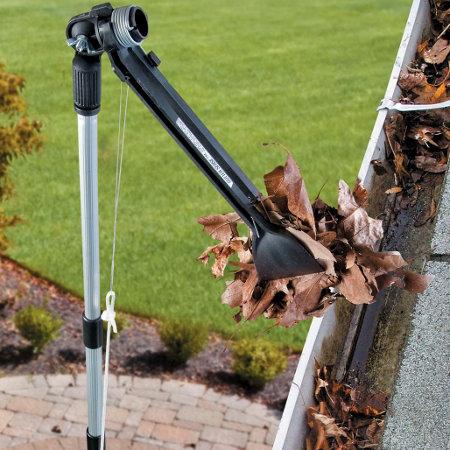 gutter sense rain gutter cleaning tool gutter cleaning device gutter