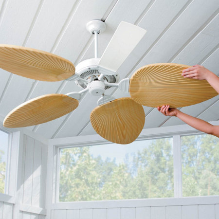 inspirational blades info fan leaf ceiling set umigo of with best palm