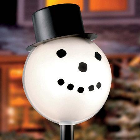 snowman lamp cover improvements