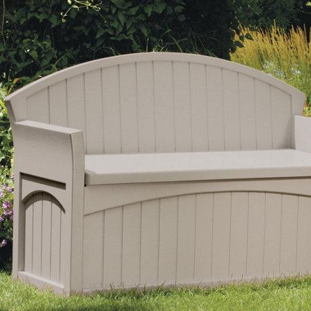Suncast Patio Storage Bench | Improvements